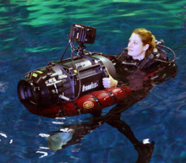 Buoyancy Compensating Camera Float
