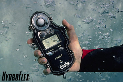 Waterproof Exposure Meter Housings | Hydroflex